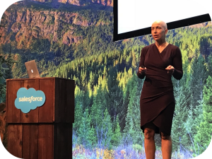 Megan Himan, speaking at Salesforce Dreamforce Conference 2017 in Admin Theater