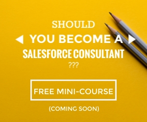Should you Become a Salesforce Consultant
