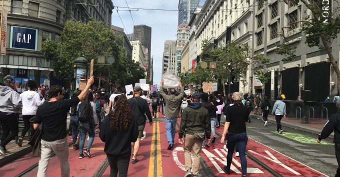 San Francisco George Floyd March